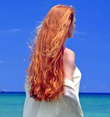 Henna na vlasech