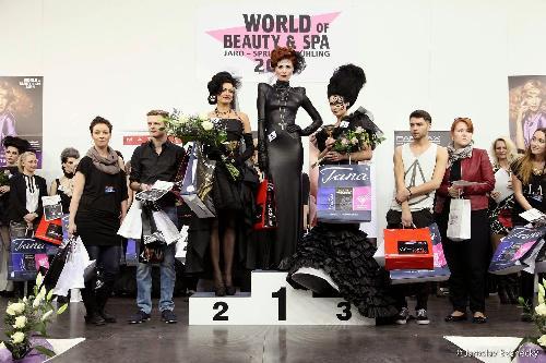 černá vdova - kadeřnická soutěž 2014