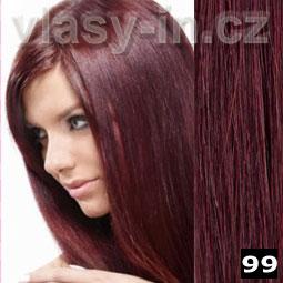 d35a5a5c875 Bordo clip in vlasy 99 - prodlužování - příčesek