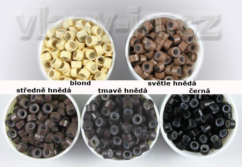 Kroužky k prodloužení vlasů micro ring