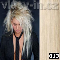 STANDARDNÍ clip in sada - plavá blond (#613)