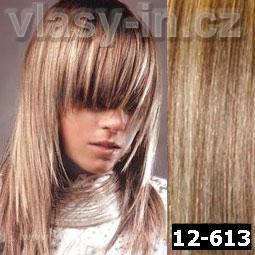 melír 12/613 - světlounce hnědá s blond