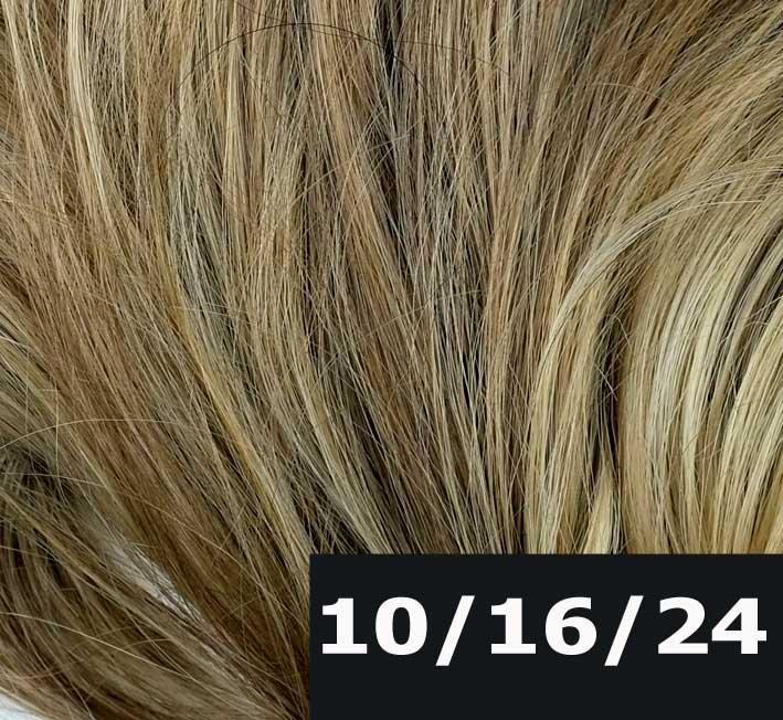melir dvou hnědých a tmavší blond