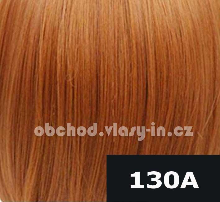 barva 130A - melir světle a tmavě zrzavá
