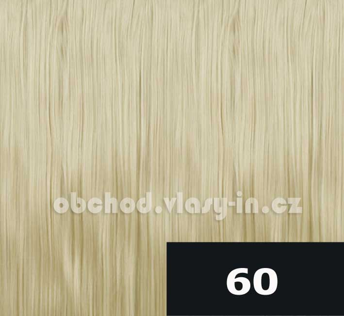 barva 60 - nejsvětlejší blond