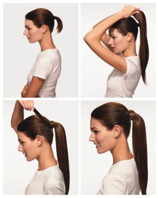 příčesek culík lidské vlasy postup