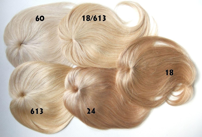 Přehled blond odstínů tupé ofin