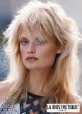 Retro look 80.let na dlouhých blond vlasech