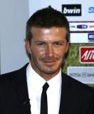 David Beckham - Jednoduchý, jemně elegantní pánský účes