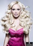 Andělské vlny v chladném blond odstínu