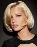 Měkce podtočené mikádo v blond