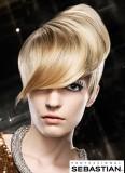 Futuristická vlna z krátkých vlasů