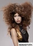Extravagantní afro z dlouhých vlasů