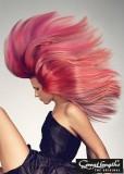 Sexy hříva růžové barvy