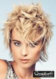 Divoký look blond barvy