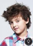 Rozcuch z delších krátkých vlasů pro kluky