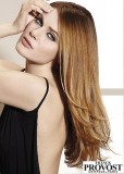 Uhlazený účes z dlouhých vlasů