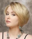 Krátké mikádo blond barvy