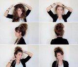 Fotonávod na velice ležérní vyčesané vlasy
