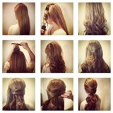 Fotonávod na účes z dlouhých vlasů