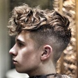 Účes pro teenagery - moderní účes pro muže